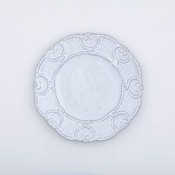 Arte Italica Bella Bianca Lace Salad Plate / qty 48 / $4 each
