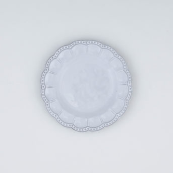 Arte Italica Bella Bianca Beaded Bread Plate / qty 45 / $4 each