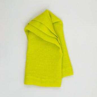 Bodrum Riviera Chartreuse Dinner Napkin / qty 54 / $3