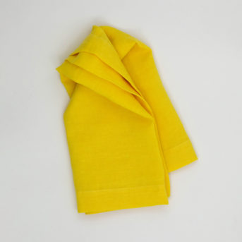 Bodrum Riviera Lemon Dinner Napkin / qty 54 / $3