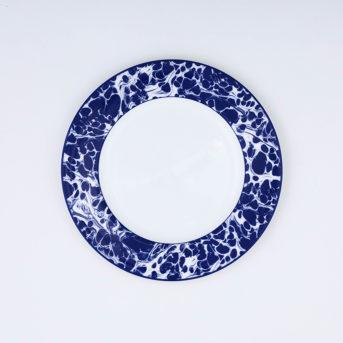 Caskata Blue Marble Salad Plate / qty 72 / $3 each