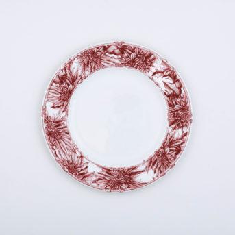 Caskata Poinsettia Salad Plate / qty 73 / $3 each