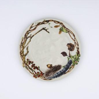 Juliska Forest Walk Salad Plate / qty 68 / $4 each