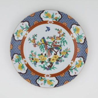 Liling Imperial Garden Dinner Plate / qty 16 / $6 each