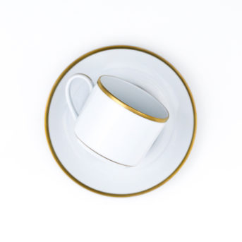 Pickard Gold Bracelet Cup + Saucer / qty 48 / $4 each