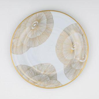 Kelly Wearstler for Pickard Gold Hillcrest Dinner Plate / qty 48 / $7 each