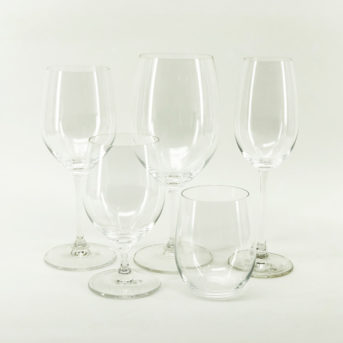 Riedel Glassware / qty 100 each / $1.75 per piece