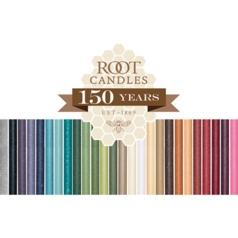 Root Candles – available in a gorgeous array of color