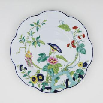 Royal Limoges Paradis Bleu Dinner Plate / qty 60 / $6 each