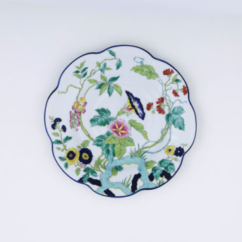 Royal Limoges Paradis Bleu Salad Plate / qty 60 / $5 each