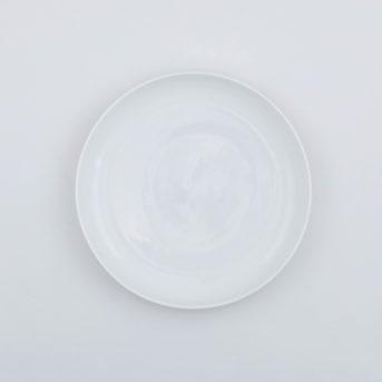 Serax Piet Boon White High Medium Salad Plate / qty 73 / $3 each