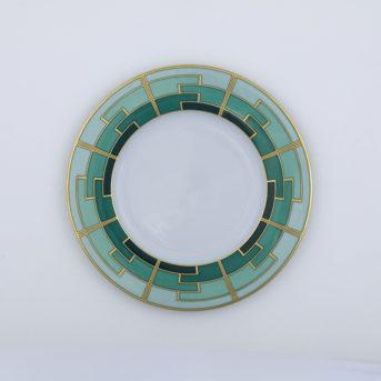 Vista Alegre Emerald Salad Plate / qty 48 / $6 each