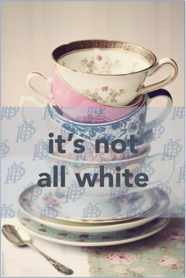 it's not all white: grandma's china is back and i love it (finally)