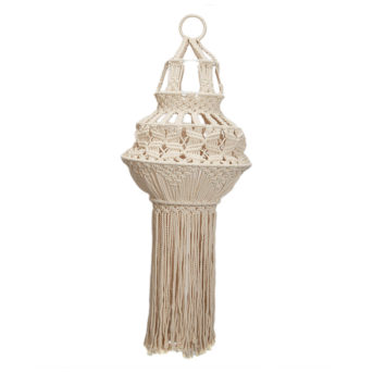 Macrame Chandelier / qty 2 / $25 each / light not included