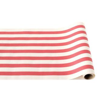 Hester & Cook Red/White Stripe Runner